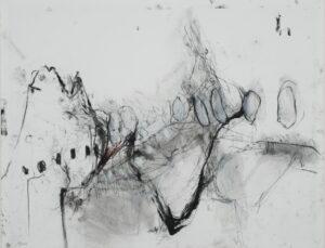 Françoise TENZER, technique mixte sur papier